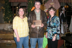 Krista and Monte Bennett Smokey Row Business of The Year wit