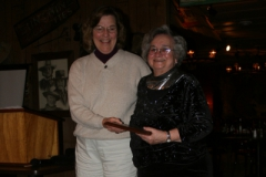 Terry Havener With Person Of The Year Nora Lee Ingle
